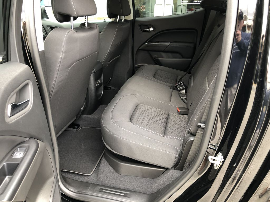 Black[Onyx Black] 2020 GMC Canyon SLE Left Side Rear Seat  Photo in Canmore AB