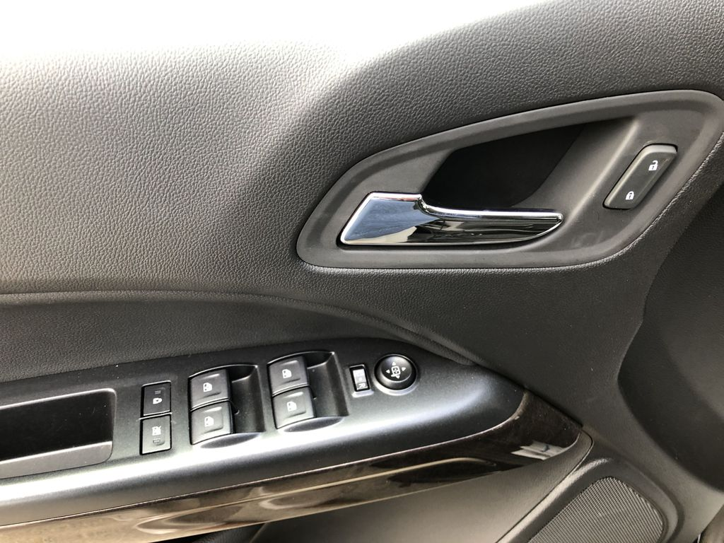 Black[Onyx Black] 2020 GMC Canyon SLE  Driver's Side Door Controls Photo in Canmore AB