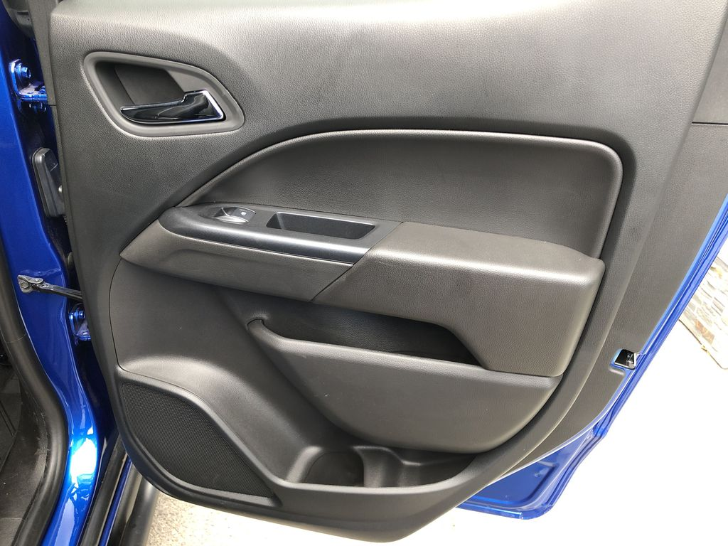 Blue[Kinetic Blue Metallic] 2020 Chevrolet Colorado ZR2 Right Rear Interior Door Panel Photo in Canmore AB