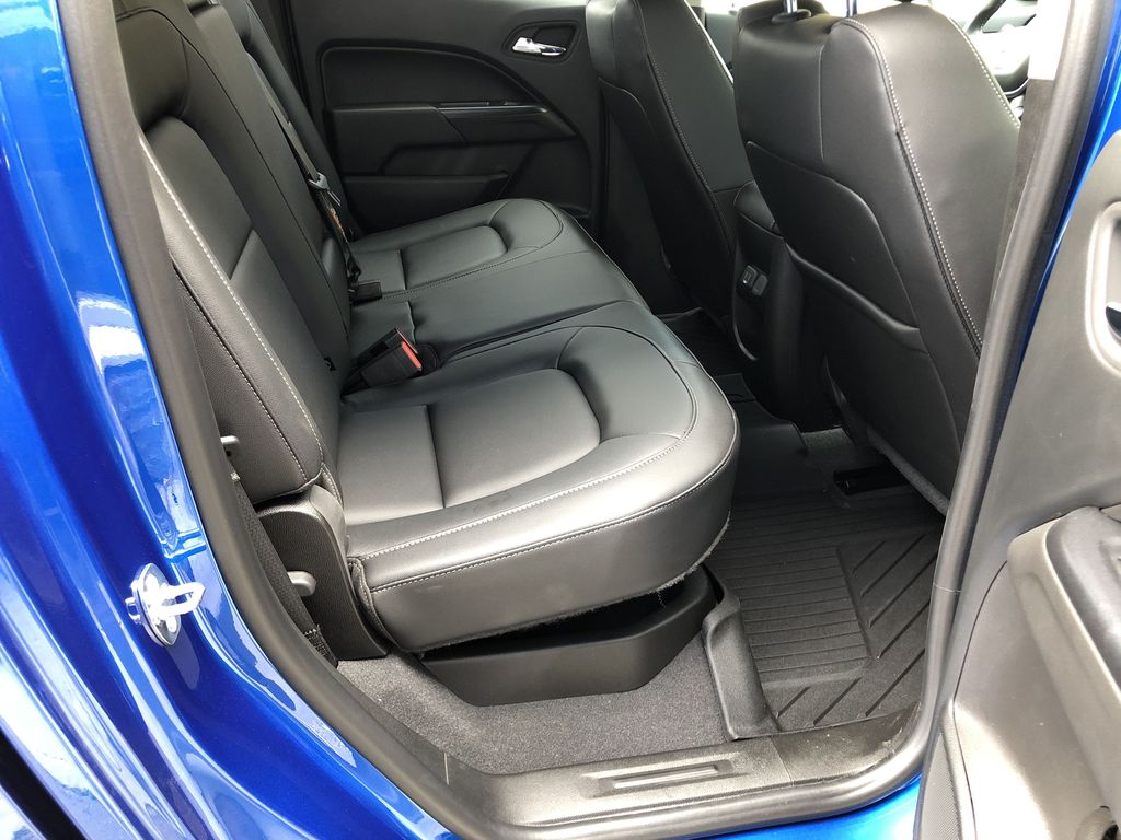 Blue[Kinetic Blue Metallic] 2020 Chevrolet Colorado ZR2 Right Side Rear Seat  Photo in Canmore AB