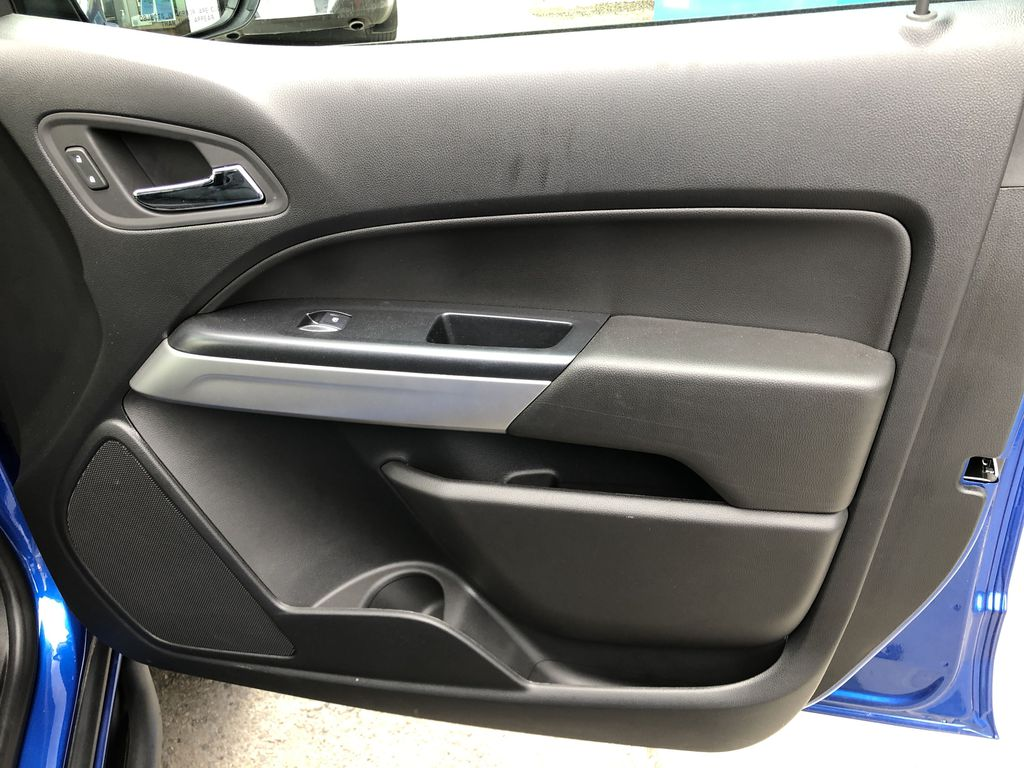 Blue[Kinetic Blue Metallic] 2020 Chevrolet Colorado ZR2 Right Front Interior Door Panel Photo in Canmore AB