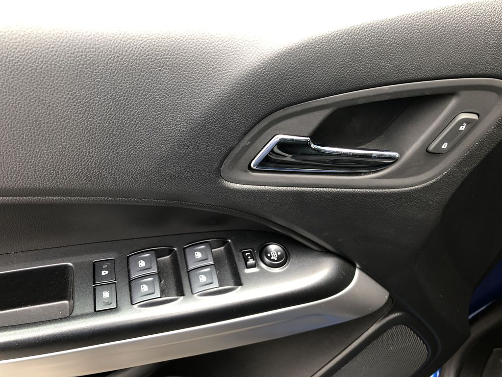 Blue[Kinetic Blue Metallic] 2020 Chevrolet Colorado ZR2  Driver's Side Door Controls Photo in Canmore AB
