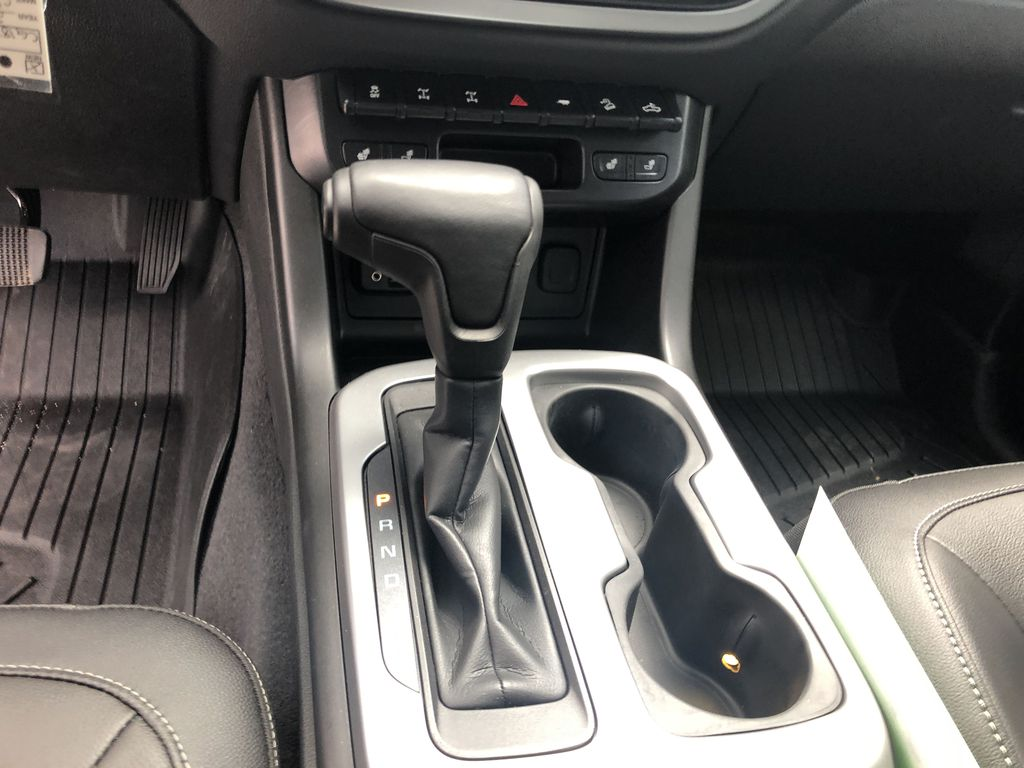 Blue[Kinetic Blue Metallic] 2020 Chevrolet Colorado ZR2 Center Console Photo in Canmore AB