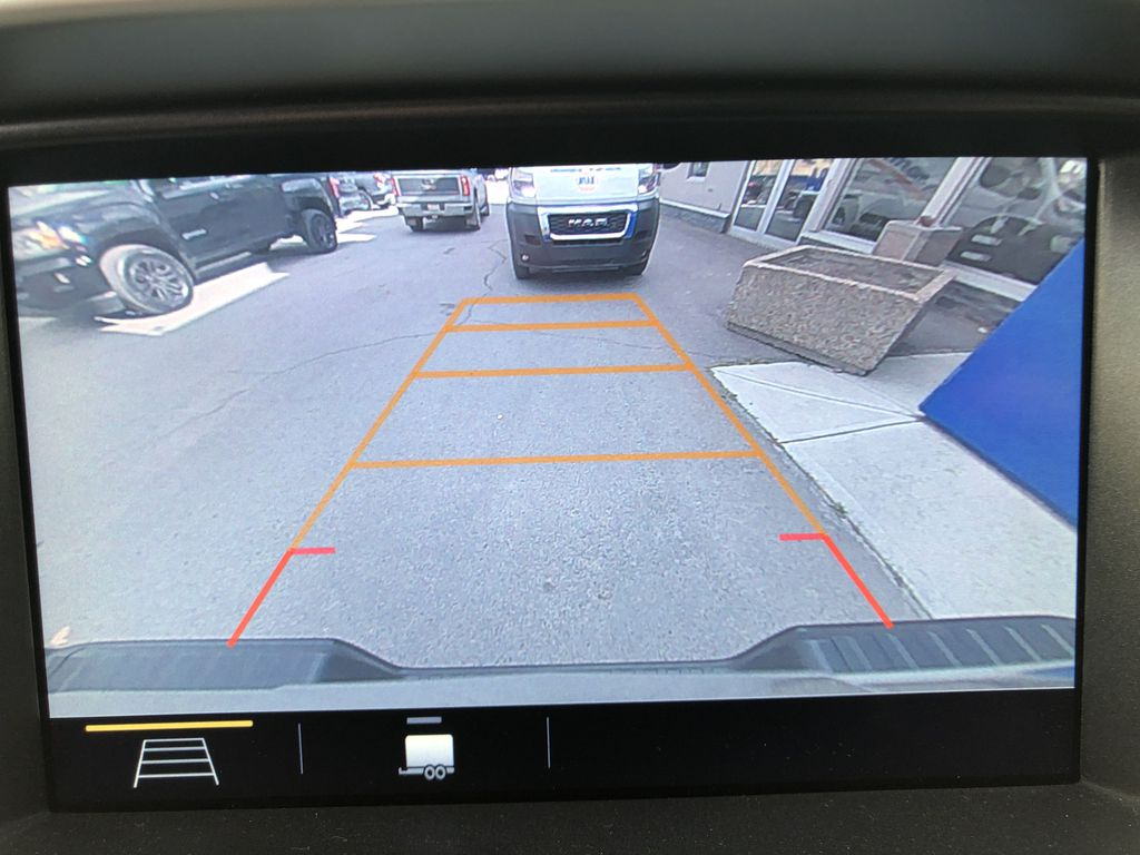 Blue[Kinetic Blue Metallic] 2020 Chevrolet Colorado ZR2 Backup Camera Closeup Photo in Canmore AB