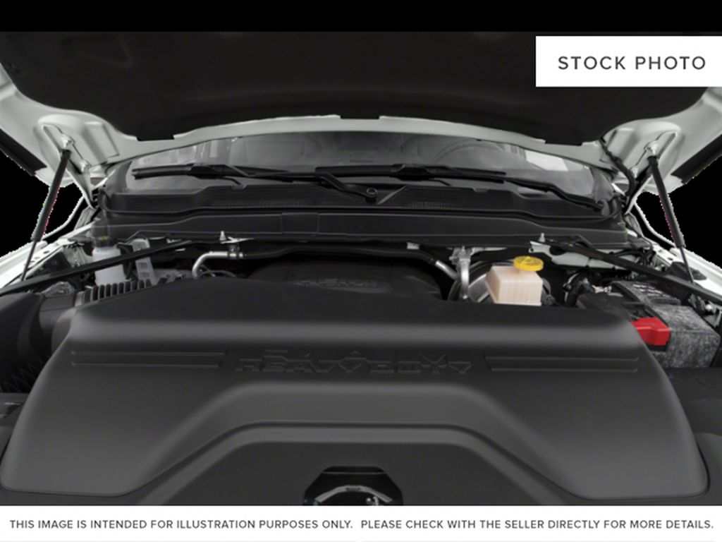 Black[Black] 2020 Ram 3500 Engine Compartment Photo in Cold Lake AB