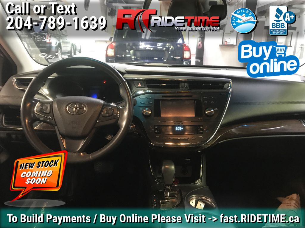 Gray[Magnetic Grey Metallic] 2014 Toyota Avalon XLE - Leather, Sunroof, Navigation, Bluetooth Central Dash Options Photo in Winnipeg MB