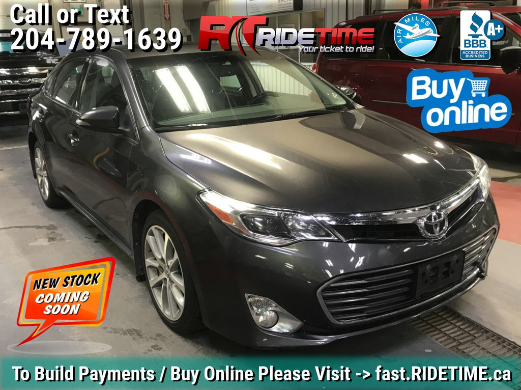 Gray[Magnetic Grey Metallic] 2014 Toyota Avalon XLE - Leather, Sunroof, Navigation, Bluetooth