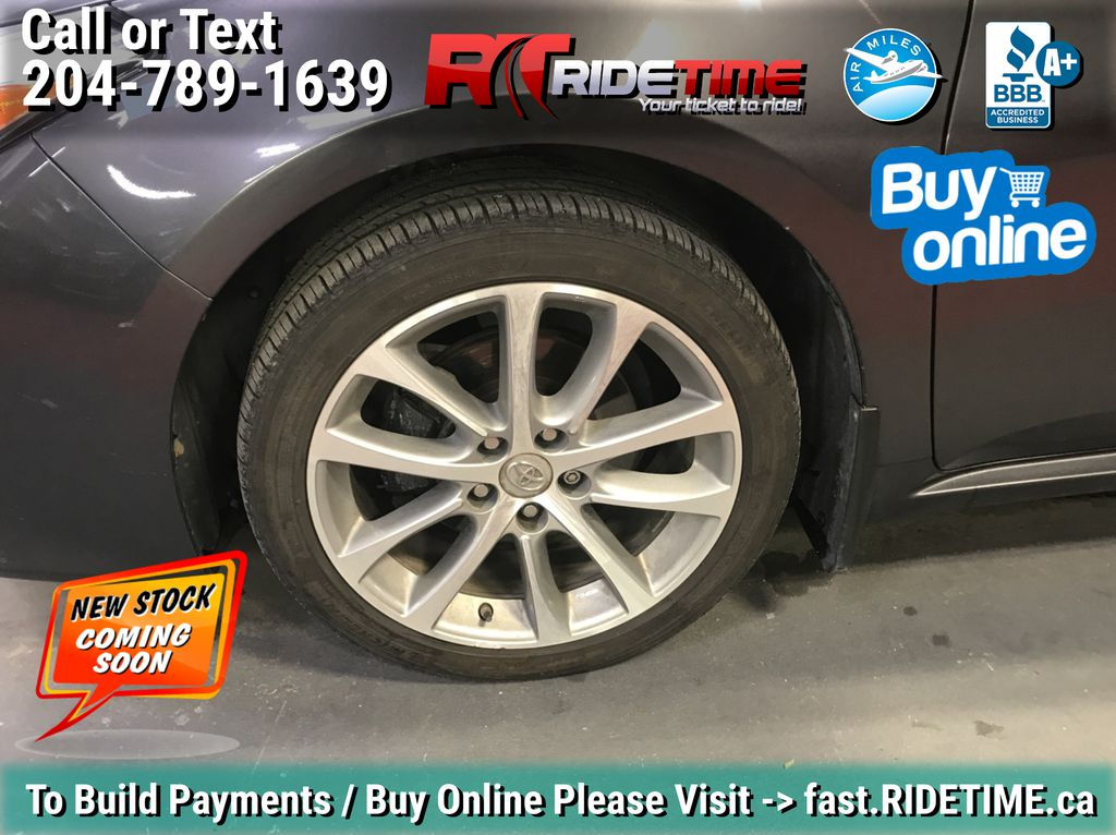 Gray[Magnetic Grey Metallic] 2014 Toyota Avalon XLE - Leather, Sunroof, Navigation, Bluetooth Left Front Rim and Tire Photo in Winnipeg MB