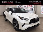 White[Blizzard Pearl] 2021 Toyota Highlander XLE Primary Listing Photo in Sherwood Park AB