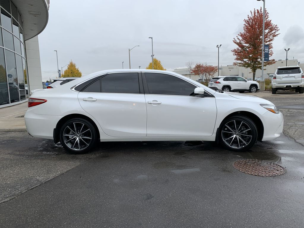 White 2017 Toyota Camry Front Vehicle Photo in Brampton ON