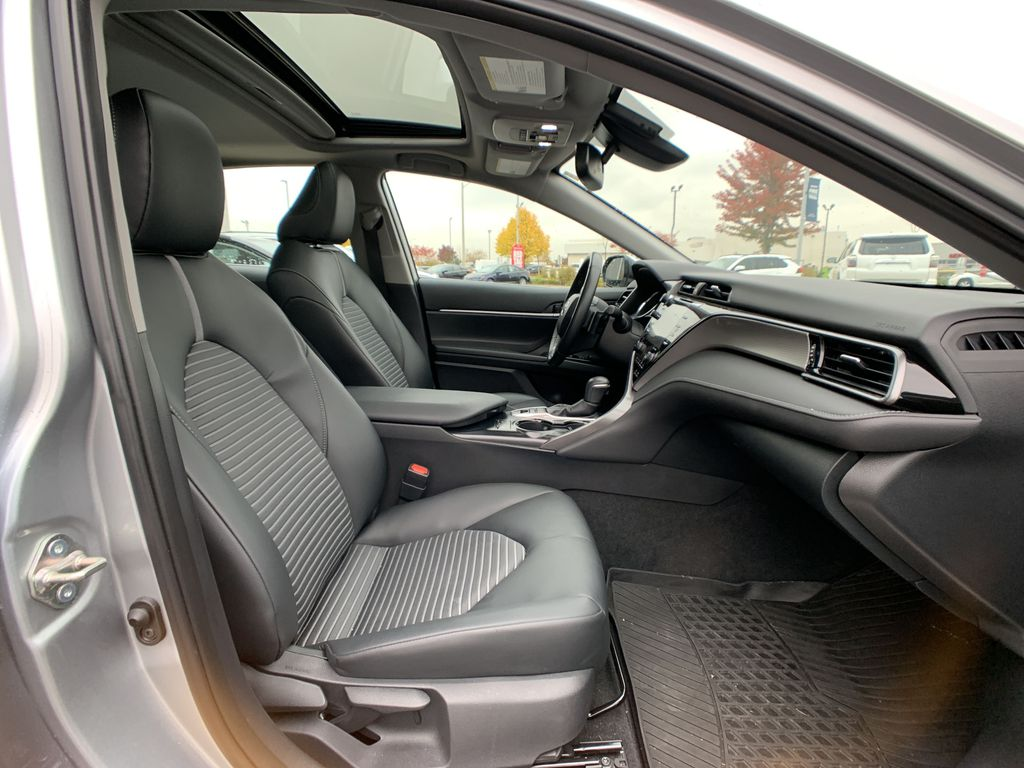 Silver 2019 Toyota Camry Right Side Rear Seat  Photo in Brampton ON