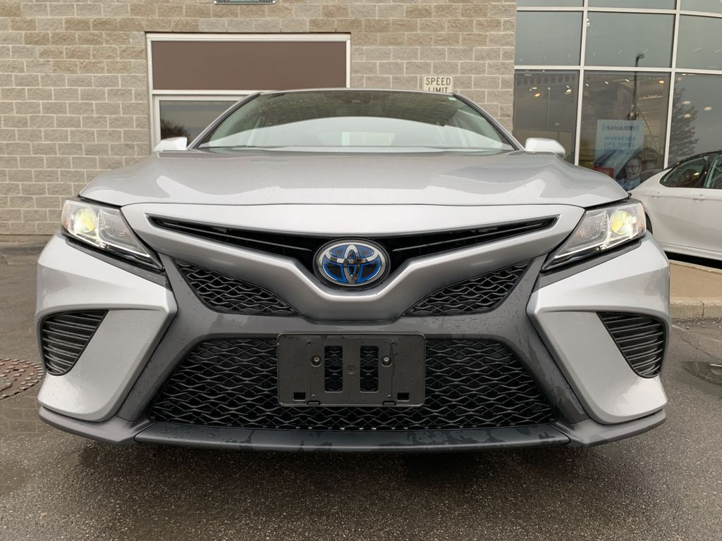 Silver 2019 Toyota Camry Left Side Photo in Brampton ON