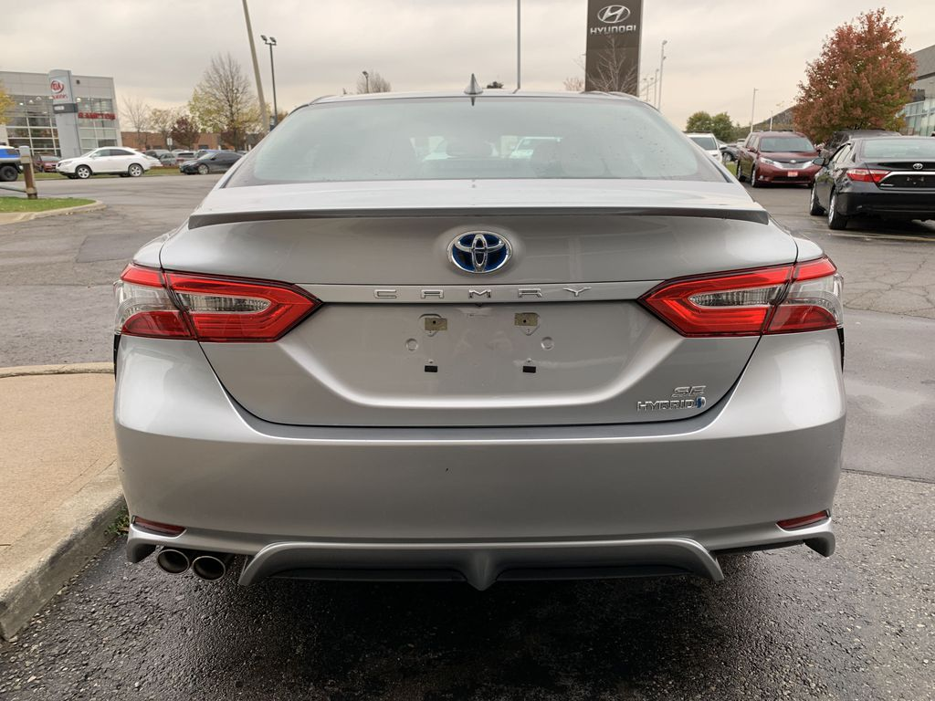 Silver 2019 Toyota Camry Left Front Interior Photo in Brampton ON