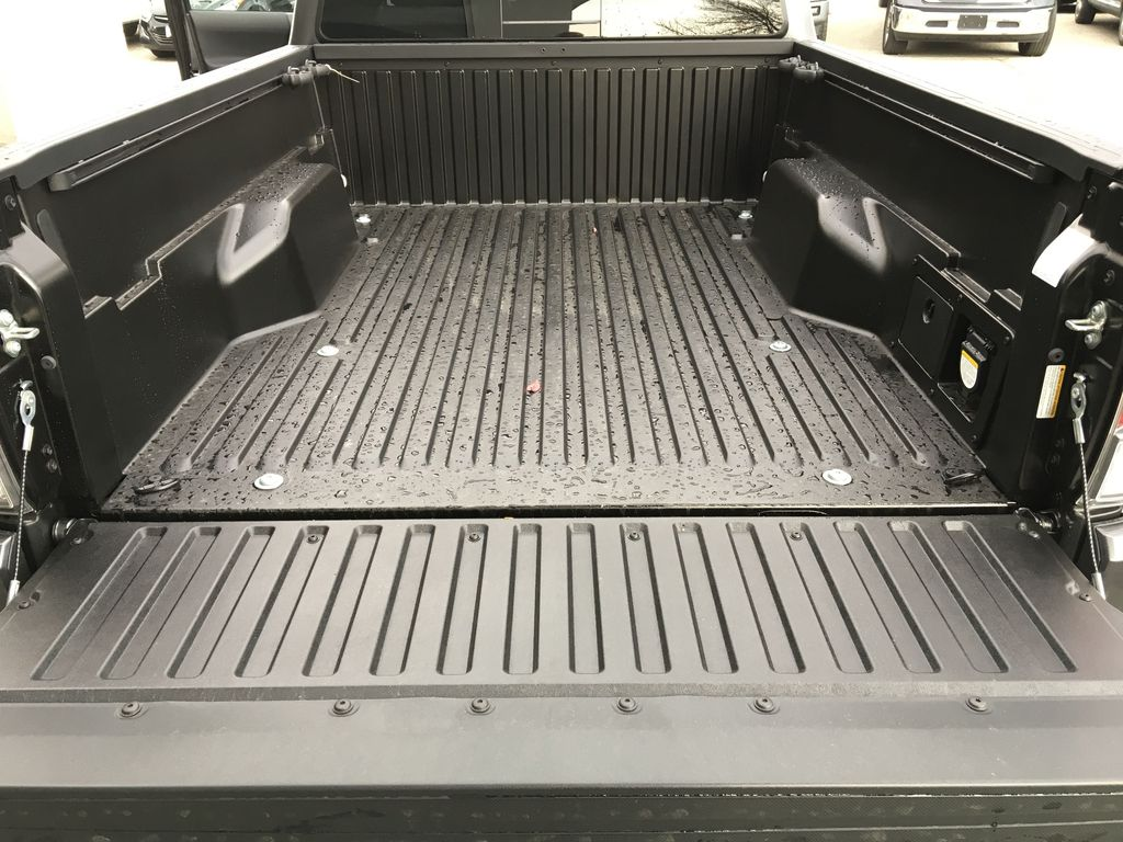 Magnetic Grey Metallic 2021 Toyota Tacoma TRD Sport Trunk / Cargo Area Photo in Kelowna BC