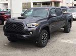 Magnetic Grey Metallic 2021 Toyota Tacoma TRD Sport Left Front Corner Photo in Kelowna BC