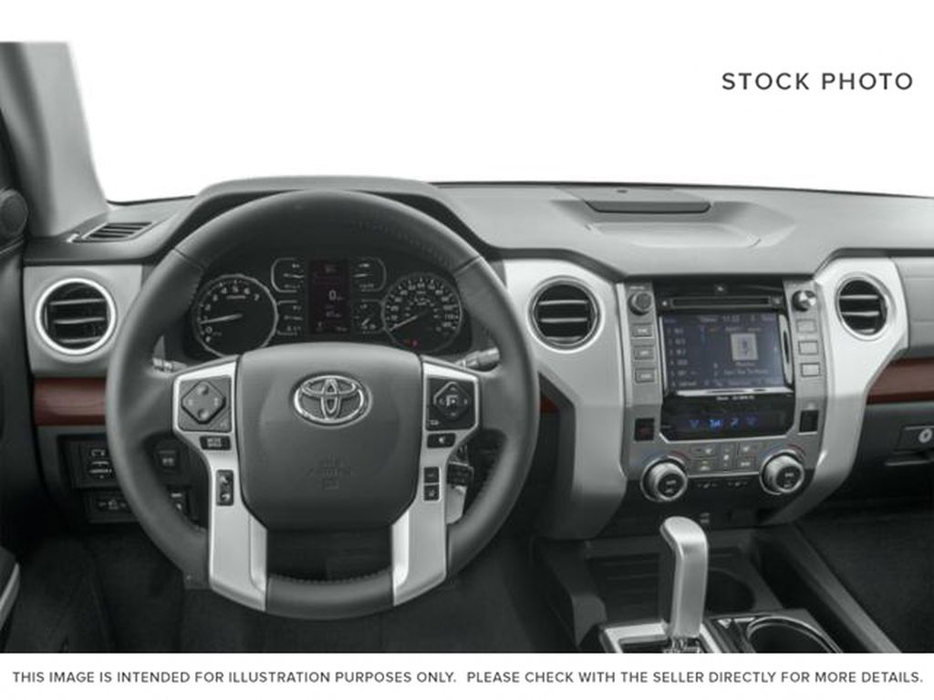 White[Super White] 2021 Toyota Tundra TRD Off Road Steering Wheel and Dash Photo in Kelowna BC