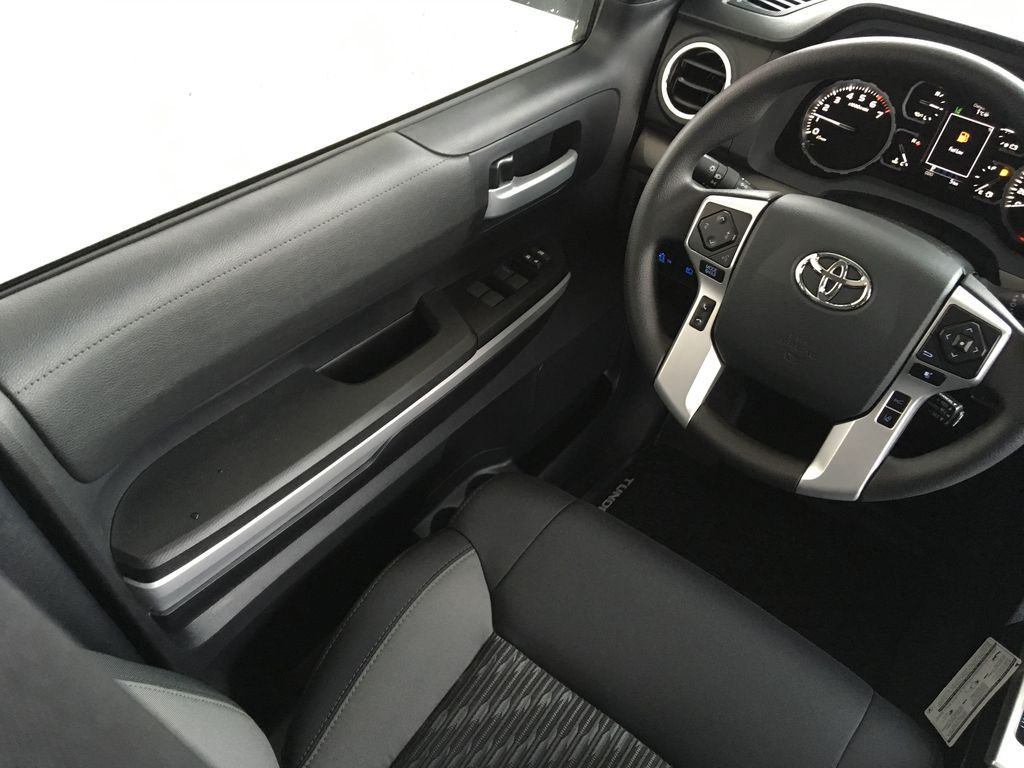 White[Super White] 2021 Toyota Tundra TRD Off Road Left Front Interior Door Panel Photo in Kelowna BC