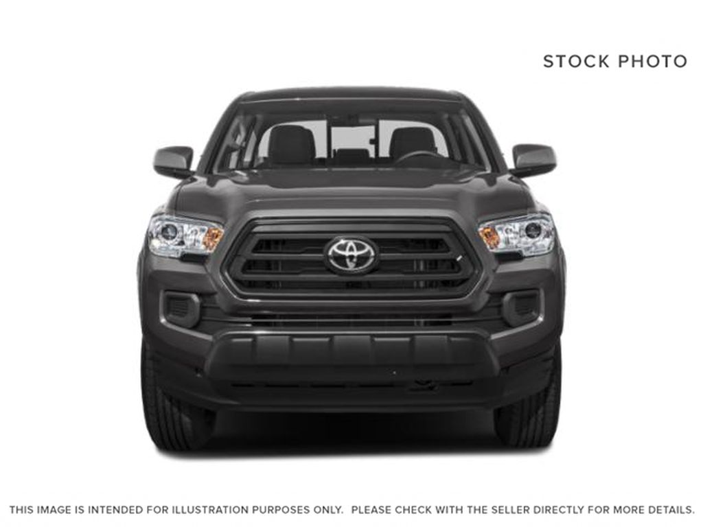 Silver[Silver Sky Metallic] 2021 Toyota Tacoma TRD Off Road Premium Front Vehicle Photo in Kelowna BC