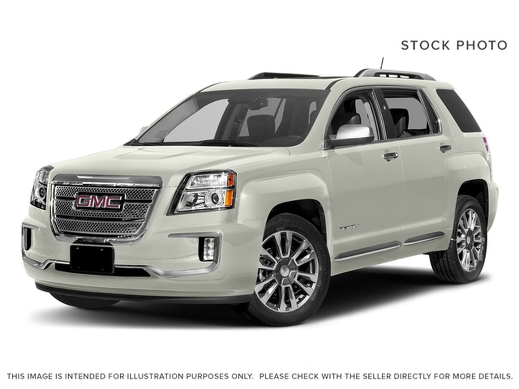 White 2017 GMC Terrain