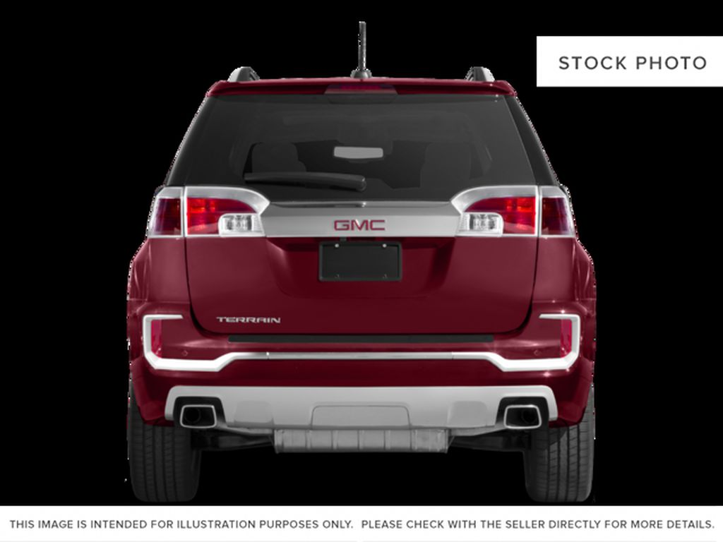 White 2017 GMC Terrain Rear of Vehicle Photo in Medicine Hat AB