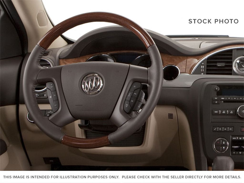 2010 Buick Enclave Steering Wheel and Dash Photo in Medicine Hat AB