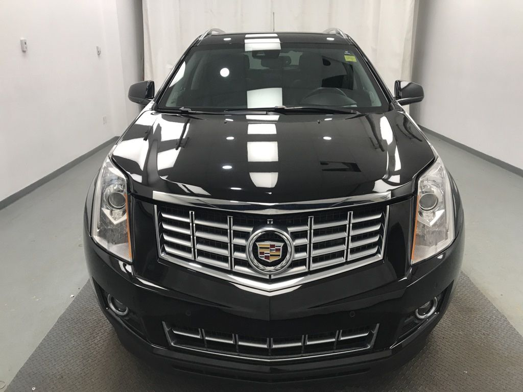 Black 2015 Cadillac SRX Front Vehicle Photo in Lethbridge AB