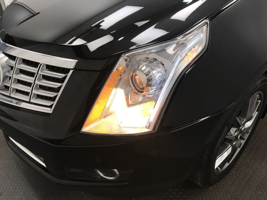 Black 2015 Cadillac SRX Left Side Photo in Lethbridge AB