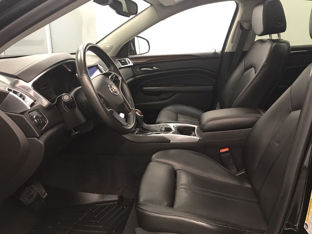 Black 2015 Cadillac SRX Left Rear Corner Photo in Lethbridge AB