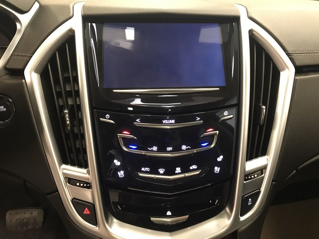 Black 2015 Cadillac SRX Steering Wheel and Dash Photo in Lethbridge AB