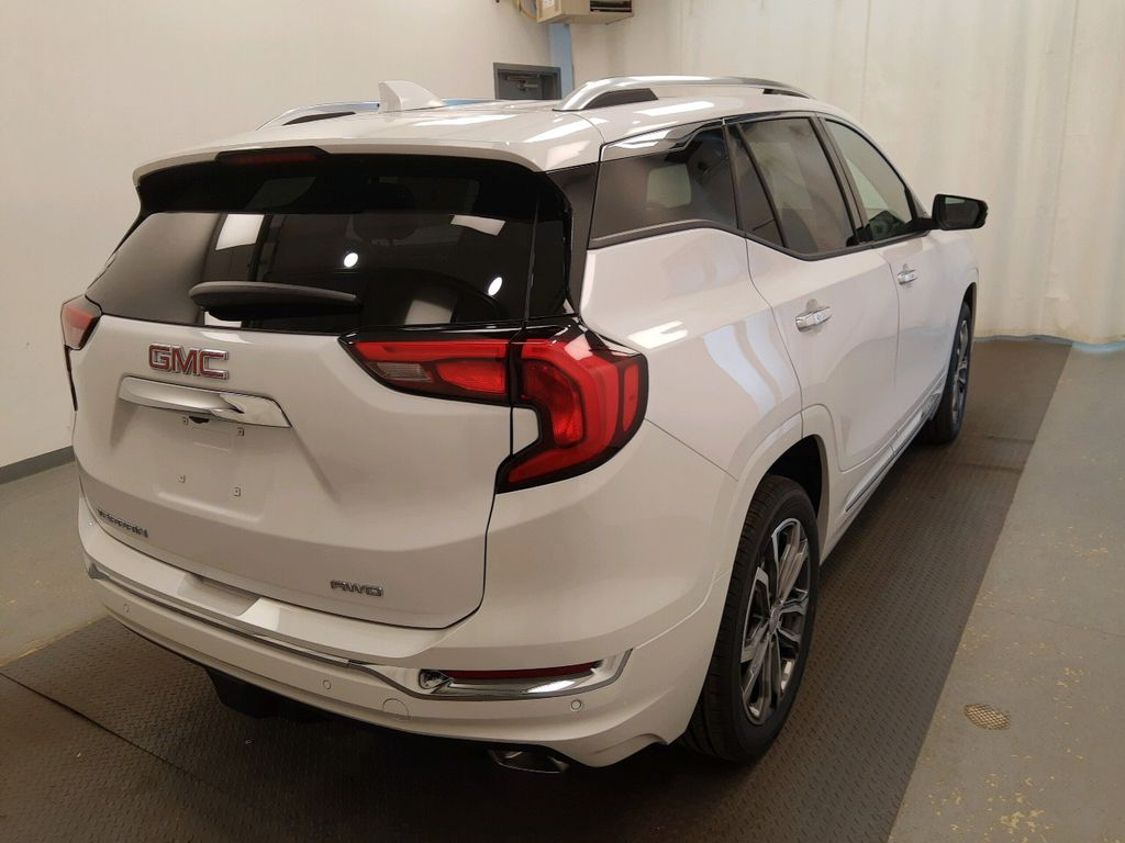 White 2020 GMC Terrain Driver's Side Door Controls Photo in Lethbridge AB