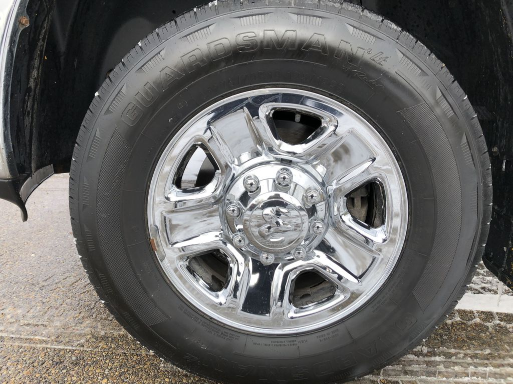 Black[Black Clearcoat] 2014 Ram 2500 Left Front Rim and Tire Photo in Edmonton AB