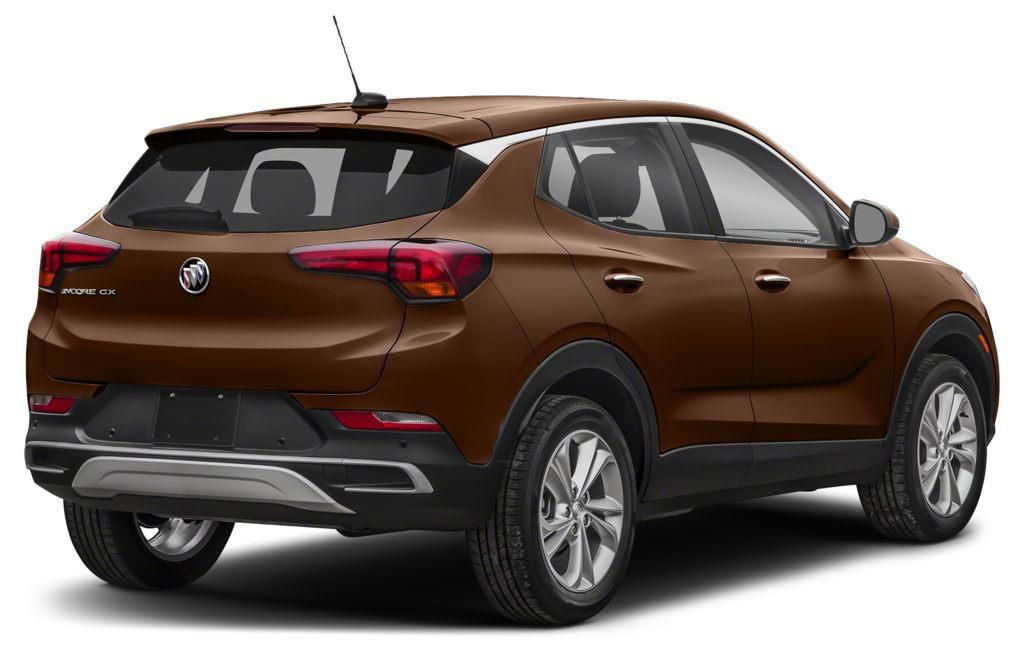 Bronze 2020 Buick Encore GX Left Front Rim and Tire Photo in Brooks AB