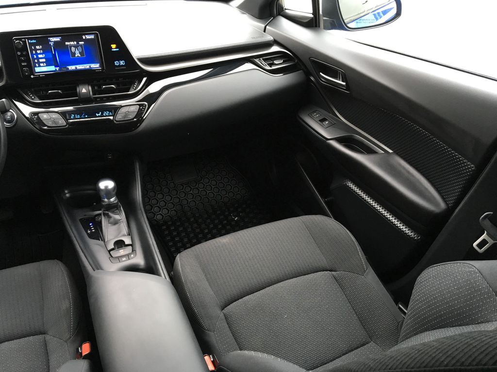 Blue Eclipse Metallic 2018 Toyota C-HR Right Side Front Seat  Photo in Kelowna BC