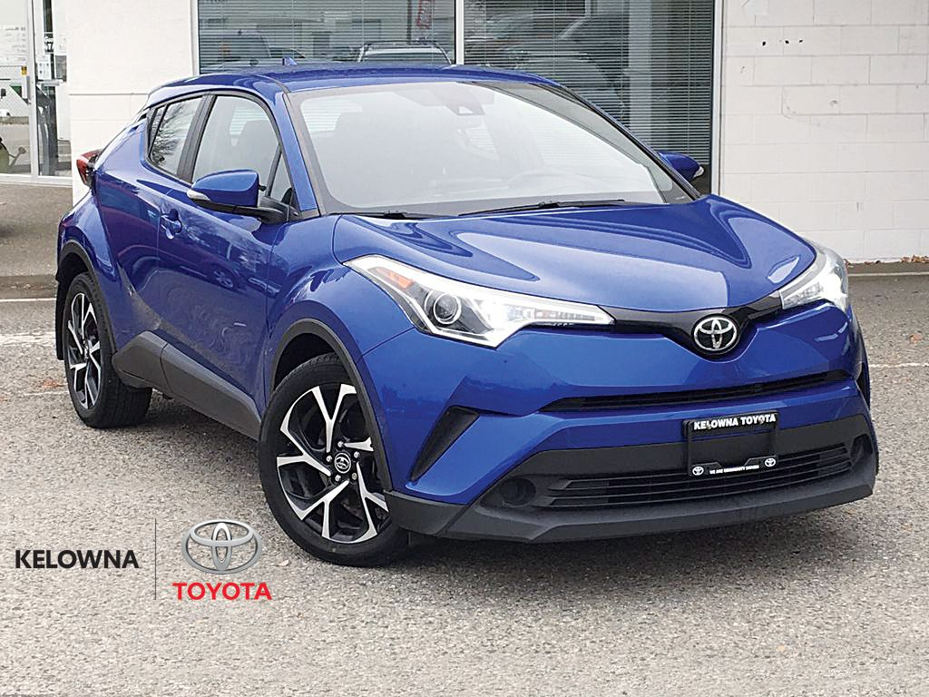 Blue Eclipse Metallic 2018 Toyota C-HR