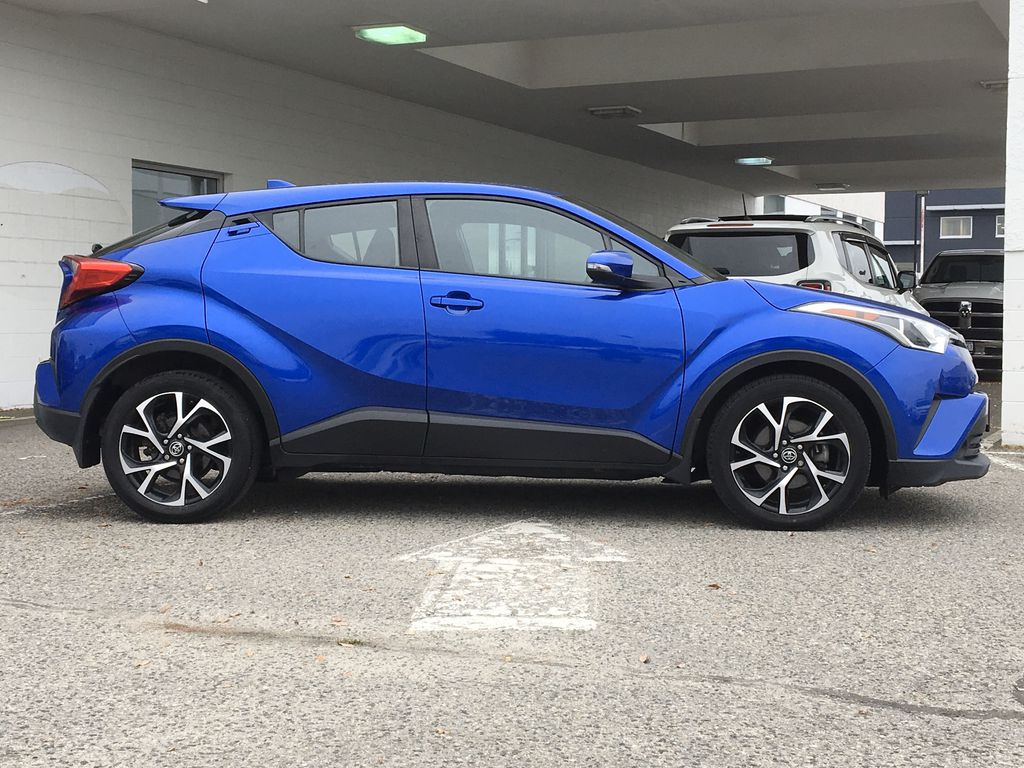 Blue Eclipse Metallic 2018 Toyota C-HR Right Side Photo in Kelowna BC