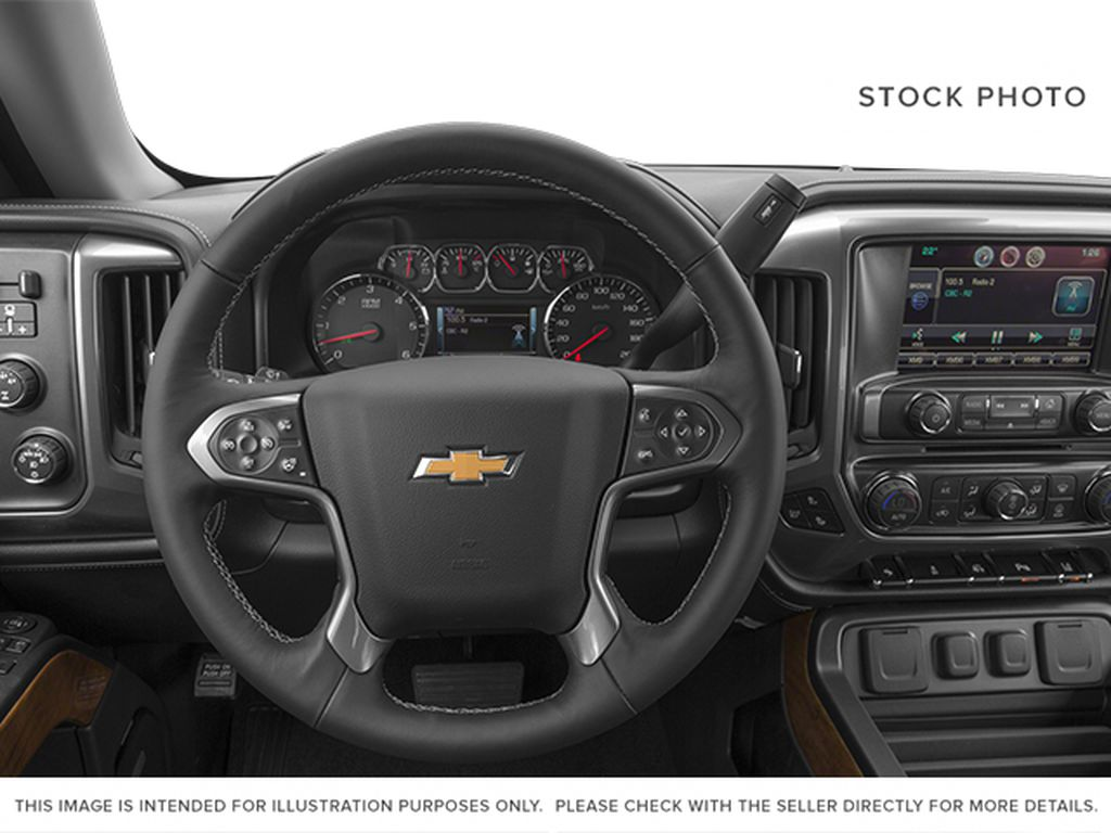 2014 Chevrolet Silverado 1500 Steering Wheel and Dash Photo in Medicine Hat AB