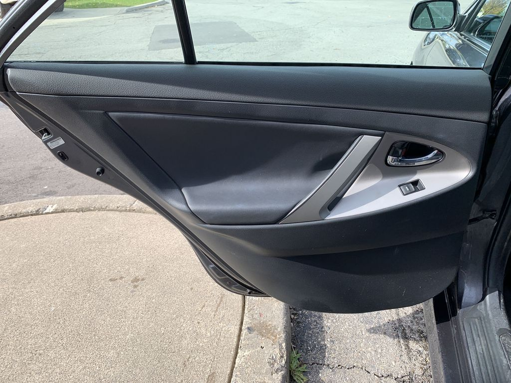 Grey 2010 Toyota Camry Left Side Rear Seat  Photo in Brampton ON