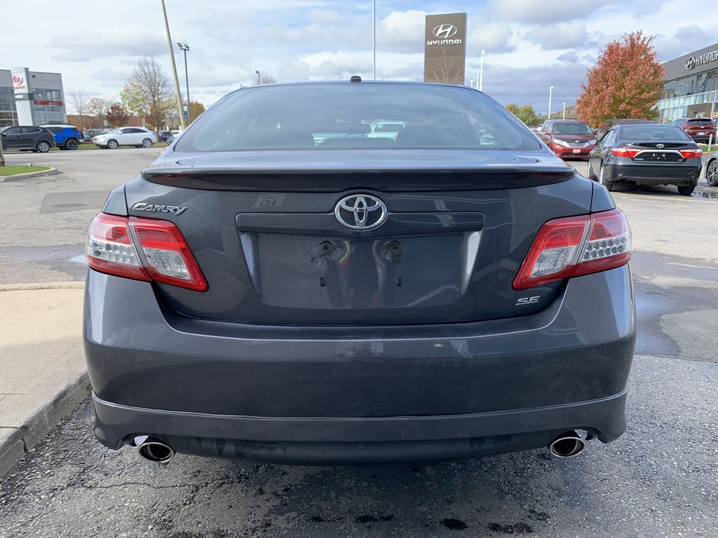 Grey 2010 Toyota Camry Left Front Interior Photo in Brampton ON