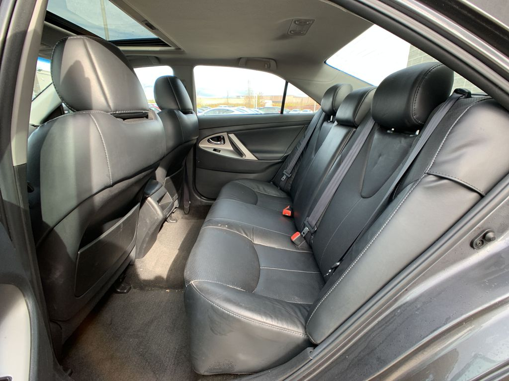 Grey 2010 Toyota Camry Right Rear Corner Photo in Brampton ON