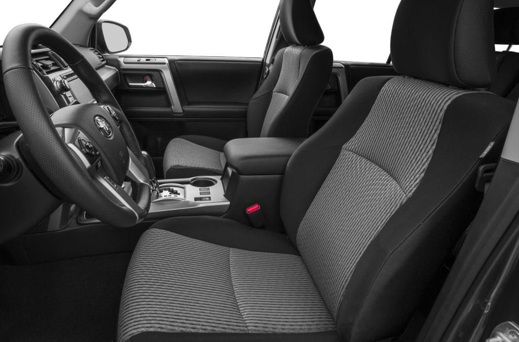 Grey 2015 Toyota 4Runner Left Front Interior Photo in Brooks AB