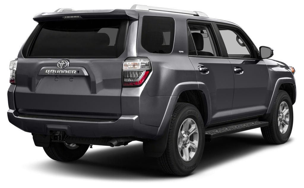 Grey 2015 Toyota 4Runner Left Front Rim and Tire Photo in Brooks AB