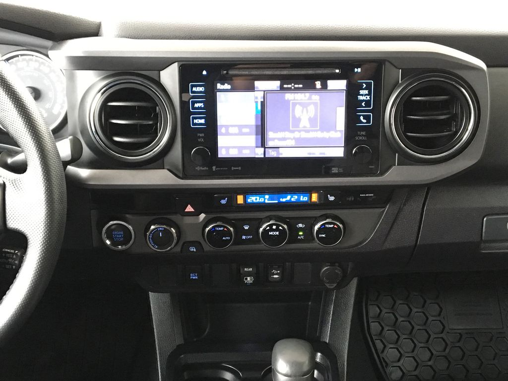 Gray[Cement Grey Metallic] 2018 Toyota Tacoma TRD Off Road Central Dash Options Photo in Kelowna BC