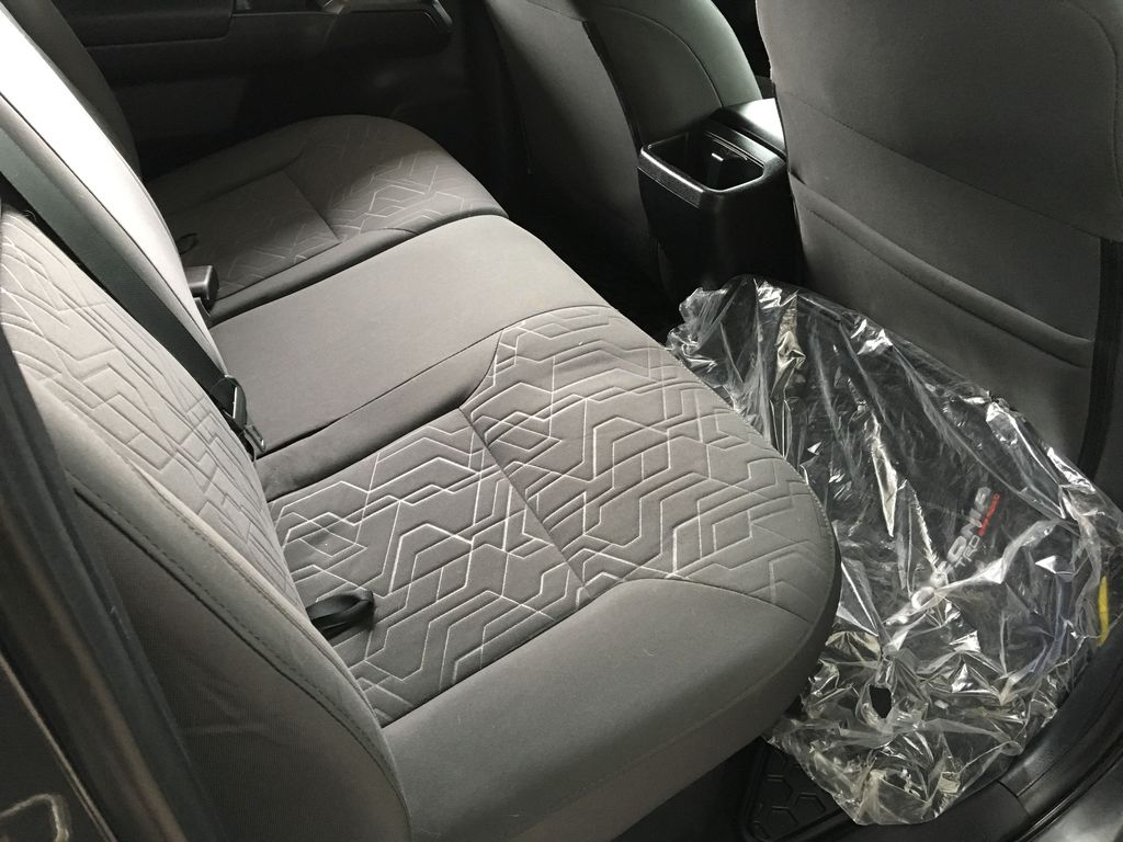 Gray[Cement Grey Metallic] 2018 Toyota Tacoma TRD Off Road Left Side Rear Seat  Photo in Kelowna BC