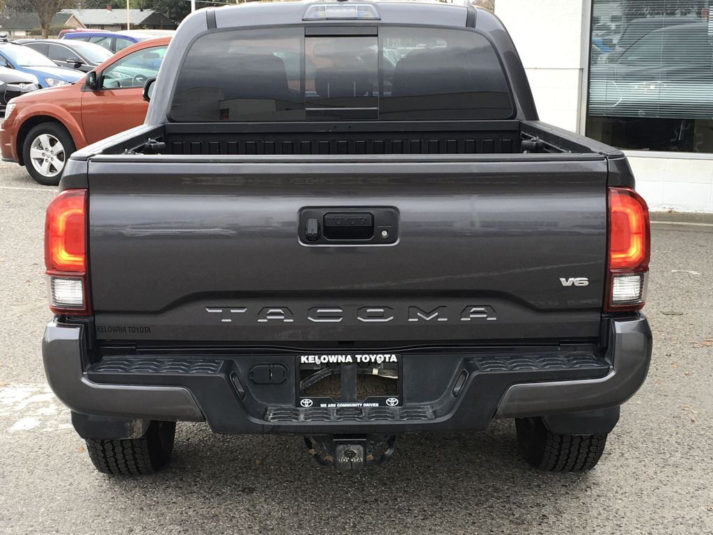 Gray[Cement Grey Metallic] 2018 Toyota Tacoma TRD Off Road Rear of Vehicle Photo in Kelowna BC