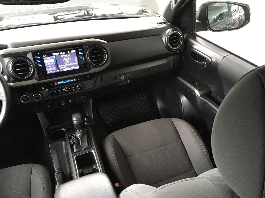 Gray[Cement Grey Metallic] 2018 Toyota Tacoma TRD Off Road Right Side Front Seat  Photo in Kelowna BC
