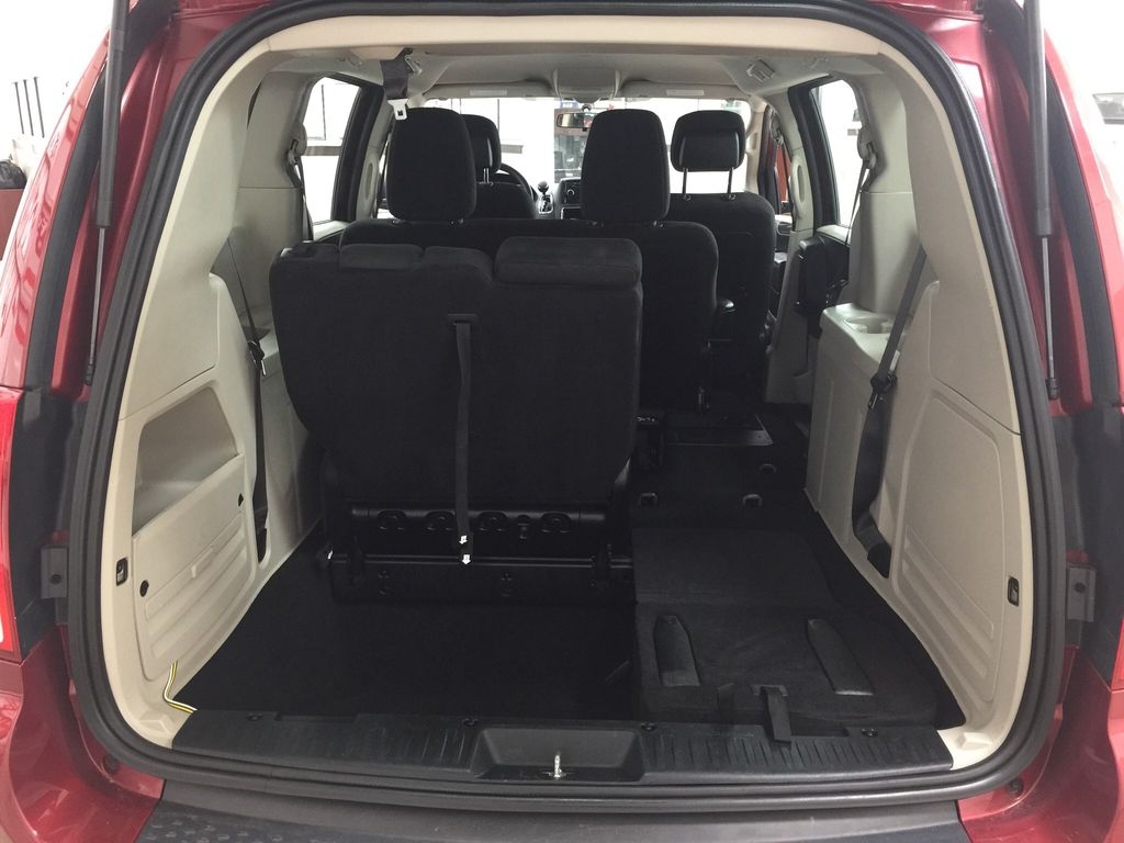 Red[Deep Cherry Red Crystal Pearl] 2016 Dodge Grand Caravan CVP Cargo Area/Rear Seats Photo in Sherwood Park AB