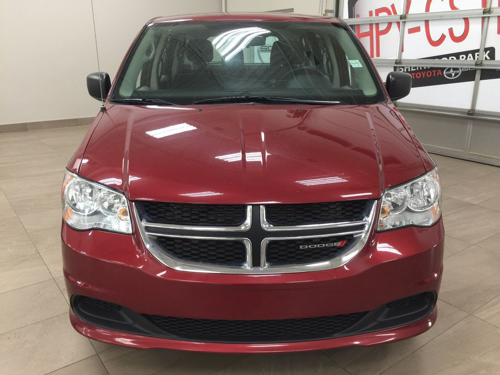 Red[Deep Cherry Red Crystal Pearl] 2016 Dodge Grand Caravan CVP Front Vehicle Photo in Sherwood Park AB