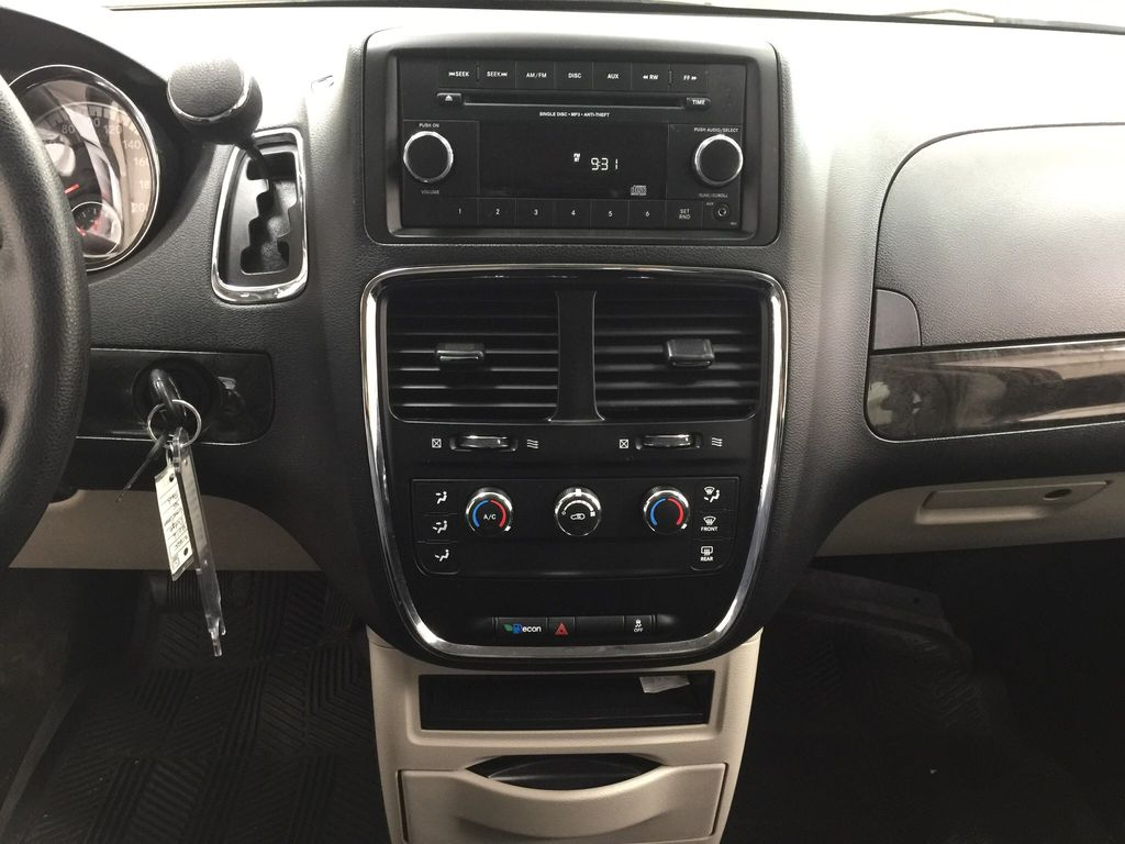 Red[Deep Cherry Red Crystal Pearl] 2016 Dodge Grand Caravan CVP Central Dash Options Photo in Sherwood Park AB