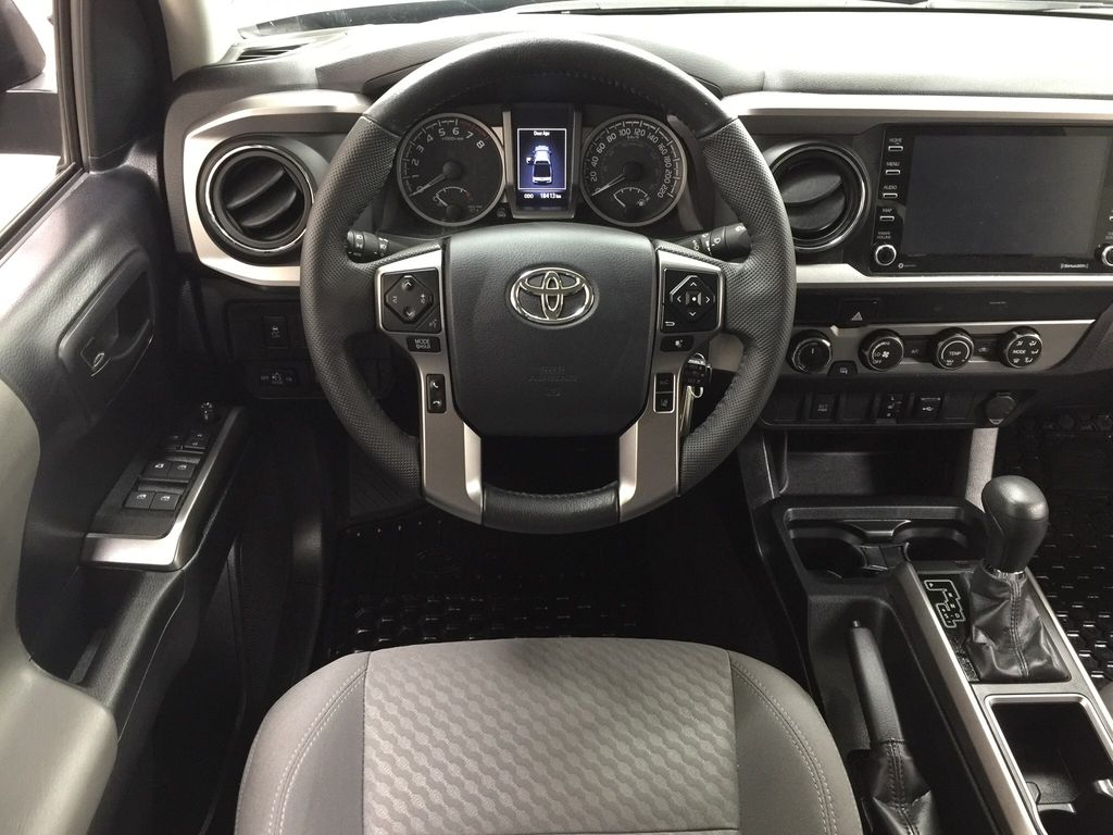Gray[Magnetic Grey Metallic] 2020 Toyota Tacoma SR5 Left Front Seat Photo in Sherwood Park AB