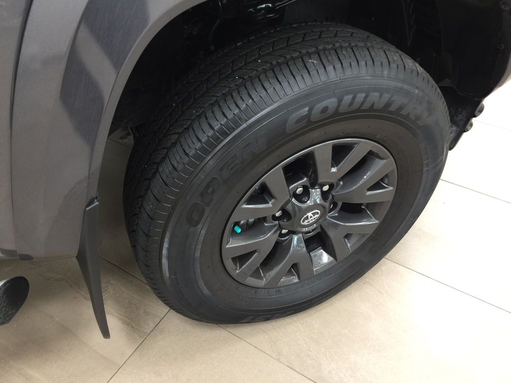 Gray[Magnetic Grey Metallic] 2020 Toyota Tacoma SR5 Right Front Rim and Tire Photo in Sherwood Park AB